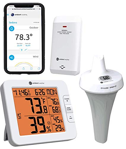 ambient weather remote monitoring weather station