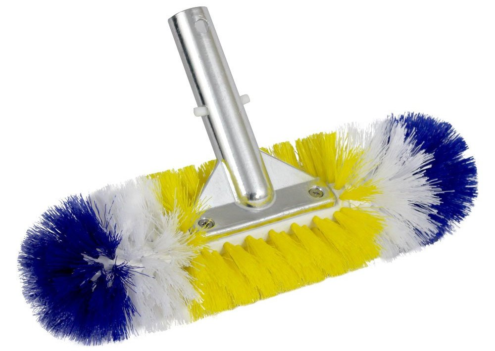 blue torrent stainless steel pool brush