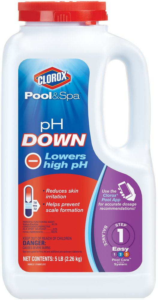 clorox pool&spa ph down