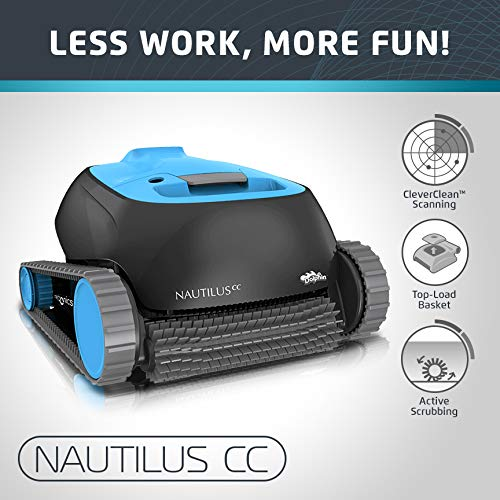 dolphin nautilus automatic robotic cleaner