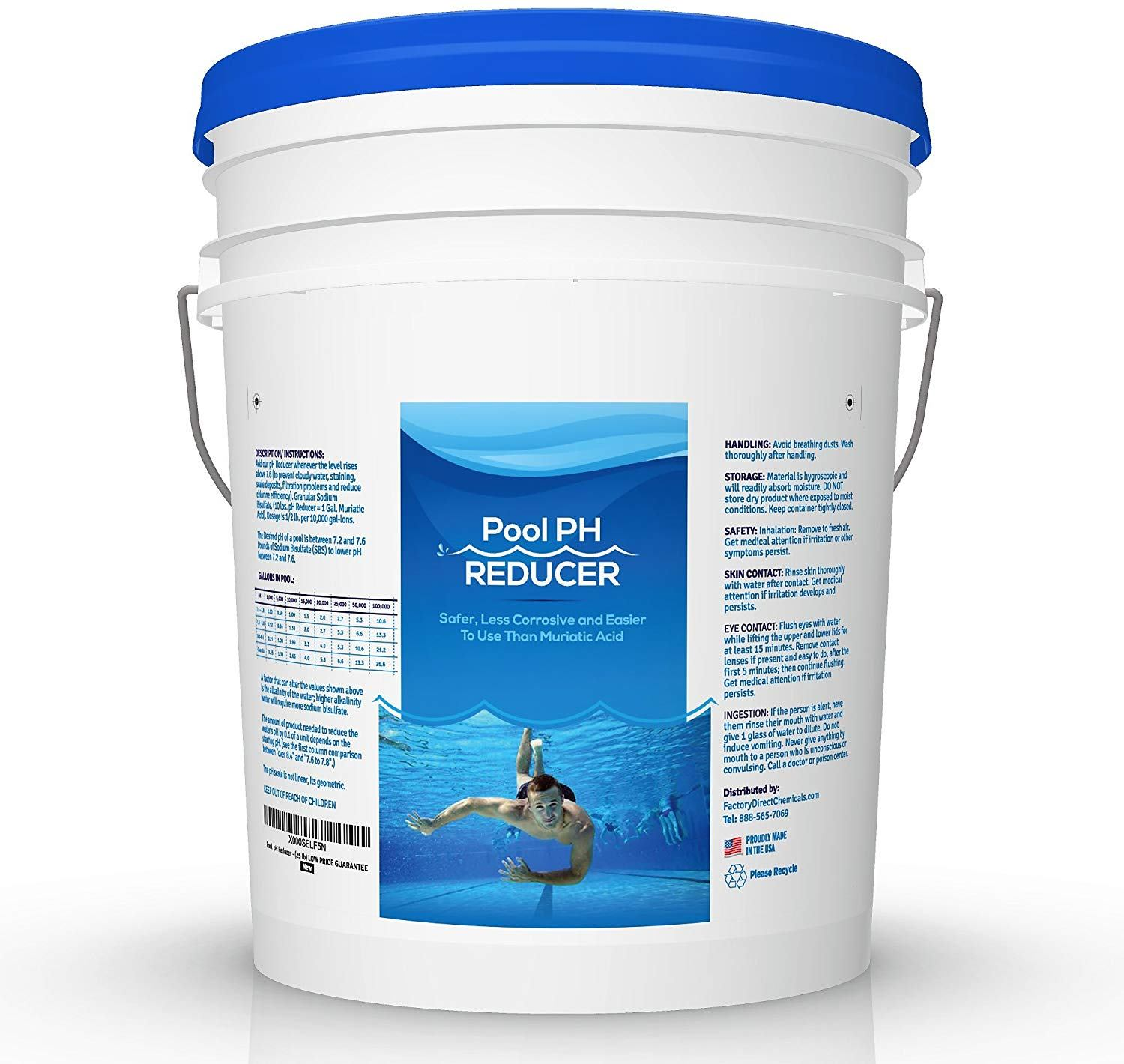 pool & spa ph reducer
