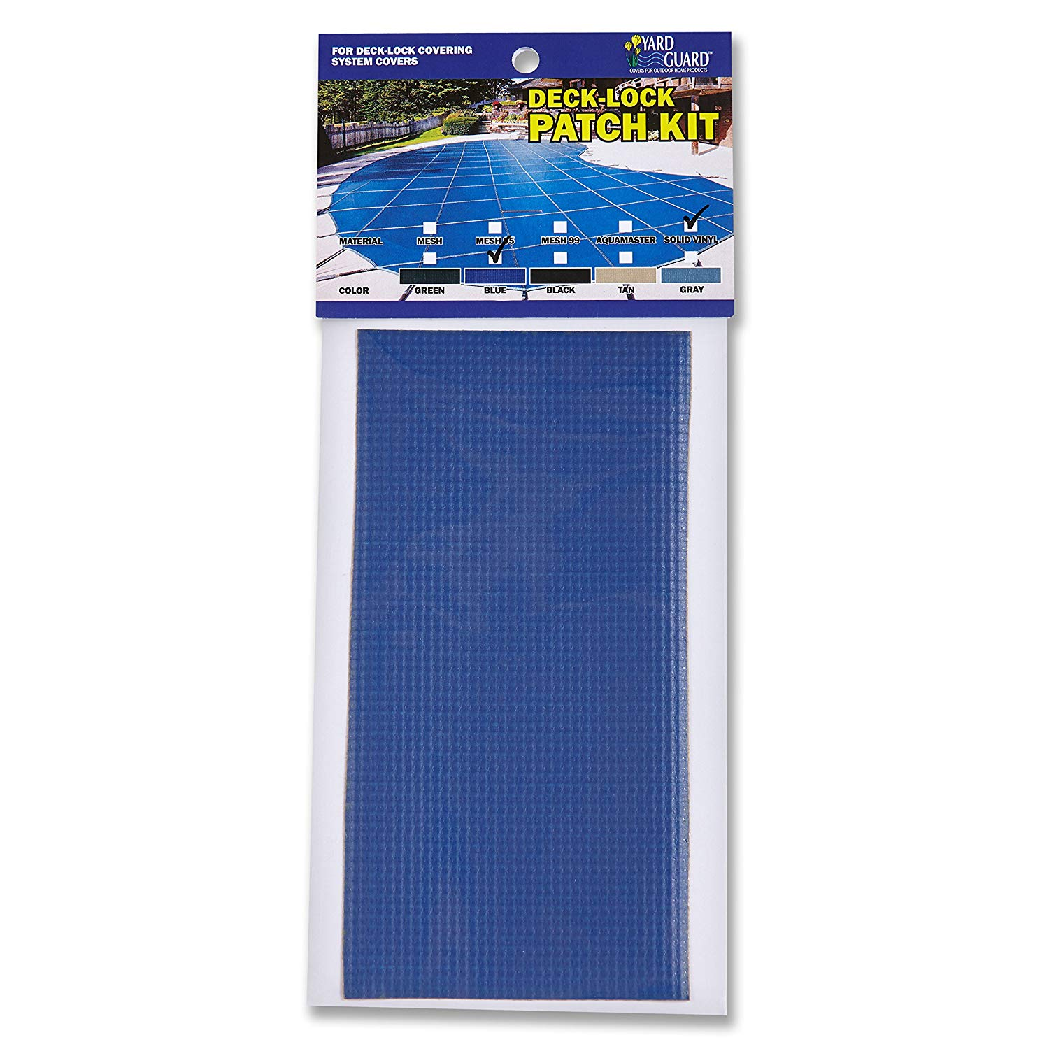 swimming pool safety cover patch kit