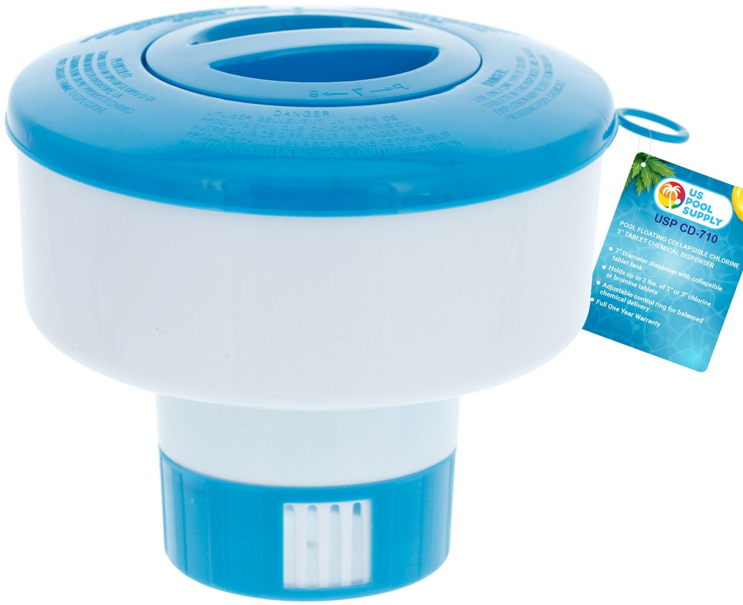 u.s. pool supply pool chlorine dispenser